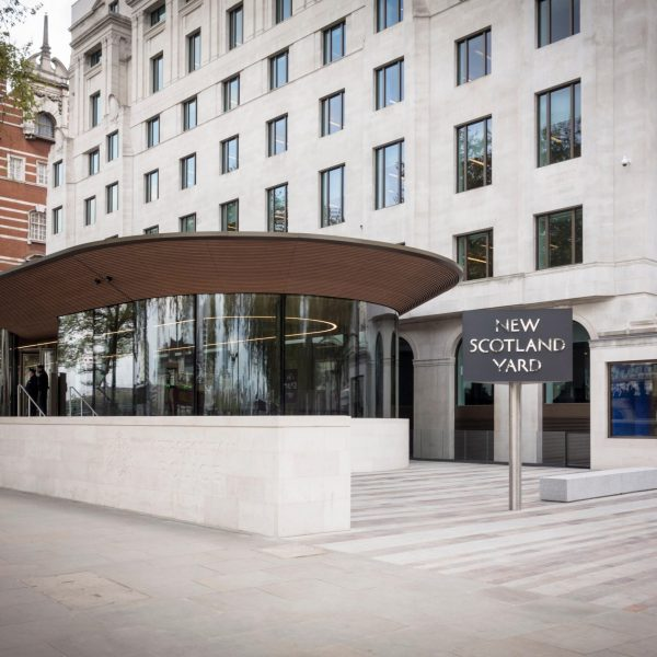 Bespoke H-Profil at New Scotland Yard